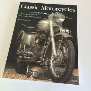 Other - Classic Motorcycles Coffee Table Book